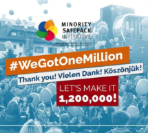 Die Million ist erreicht