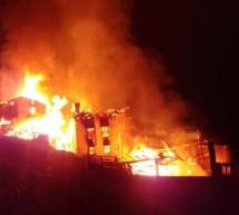 Großbrand in Martell