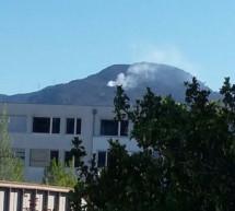 Brand in Obermagdalena