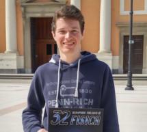 Physik-Bronze für Philipp