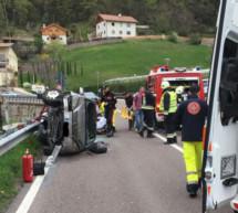 Zwei Verkehrsunfälle, drei Verletzte
