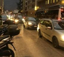 Kundgebung gegen Verkehr