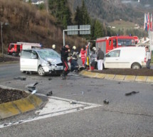 Crash in St. Ulrich