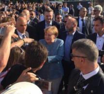 Merkel in Eppan