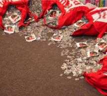 123.000 Laschen gesammelt