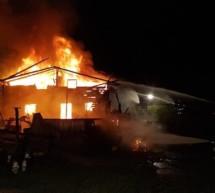 Brand auf Schönbergalm