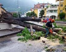 Unwettereinsätze in Südtirol