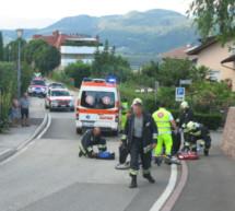 Radfahrer stürzt schwer