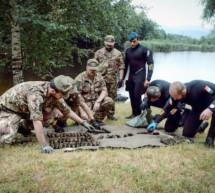 Das Waffenlager im See