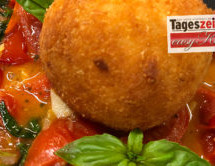 Arancini mit Tomatenkonfit