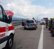 Auto gegen Rettungswagen