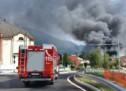 Brand in Tischlerei