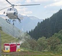 Waldbrand in Luttach
