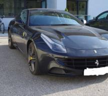 Beschlagnahmter Ferrari
