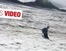 Gefahr am Gletscher