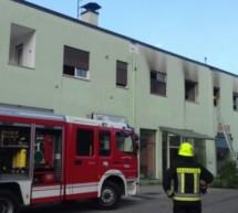 8 Verletzte bei Wohnungsbrand