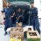 4 Italiener mit 63 Kilo Pilze