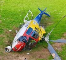 Hubschrauberabsturz in Vöran