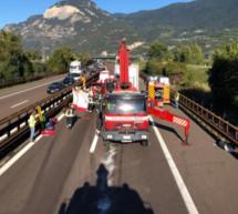 Lkw-Unfall auf der A22