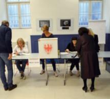 Gesunkene Wahlbeteiligung