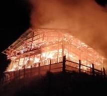 Der Großbrand in Wengen