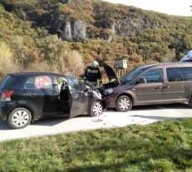 Crash in Tramin