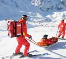 Skiunfall in Toblach