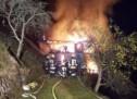 Großbrand im Sarntal