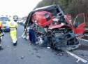 Crash auf der Autobahn