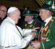 Schützen beim Papst