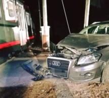 Auto gegen Bahn