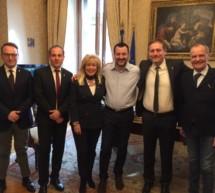 Treffen mit Salvini