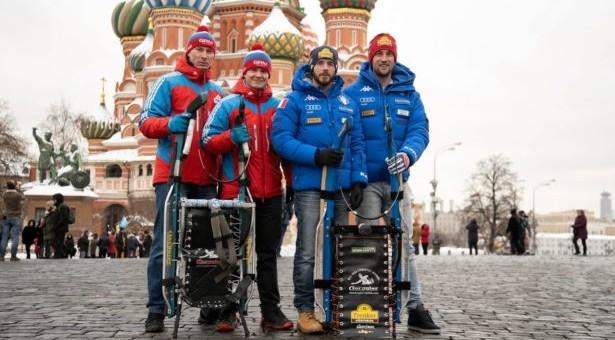 Die Moskau-Etappe