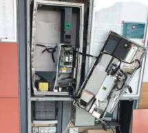 Zerstörter Automat