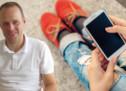 Der Handy-Daumen