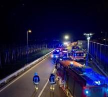 Unfall mit sechs Verletzten