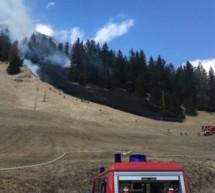 Waldbrand im Gadertal
