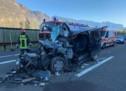 Crash auf der A22