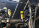 Brand im Hackschnitzelwerk