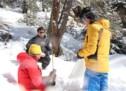 Die Schneemessungen