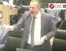 Wutausbruch im Landtag