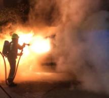 Fahrzeugbrand in Obermais