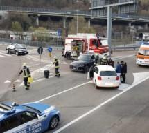 Crash in Waidbruck