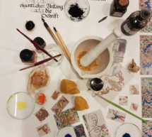Malen wie im Mittelalter