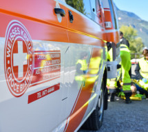 Crash in Eppan