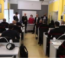 Carabinieri lernen Deutsch