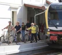 Gesperrte Vinschger Bahn