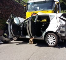 Crash in Waidbruck