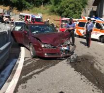Drei Verletzte in Mühlbach