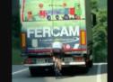 Verrückter Radfahrer